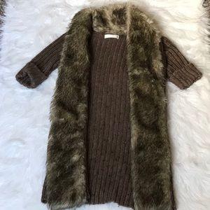 A fur sweater